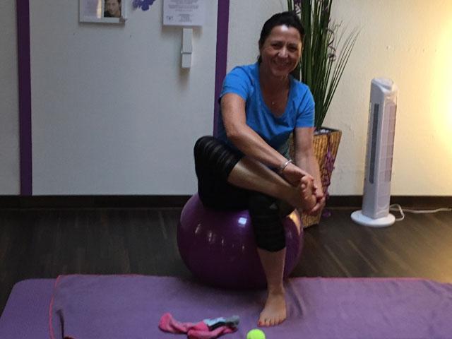 Heike Füße - Muskelaufbau